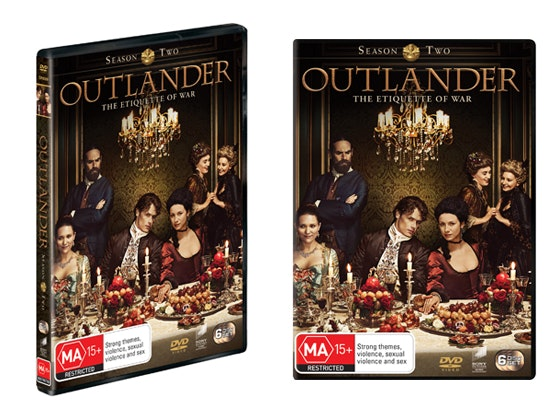 Outlander Season 2 DVD sweepstakes