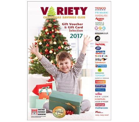 Variety christmas club savings club