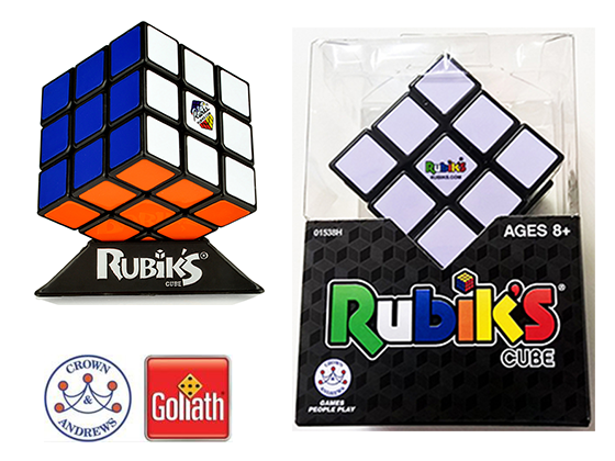 Crown & Andrews 3x3 Rubik's Cube Game  sweepstakes