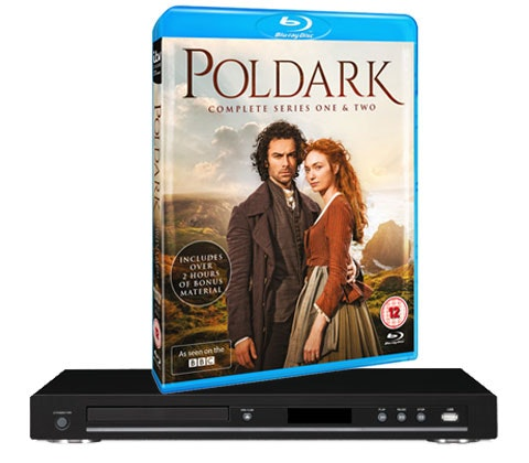 Poldark dvd blu ray player competition