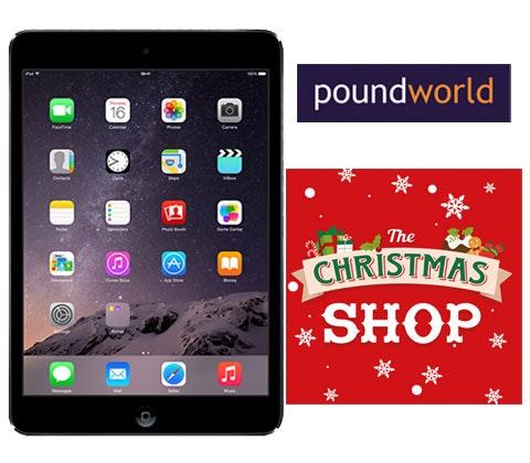 Poundworld ipad mini competition