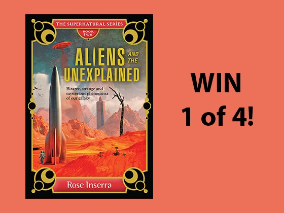 Aliens and the Unexplained? Book sweepstakes