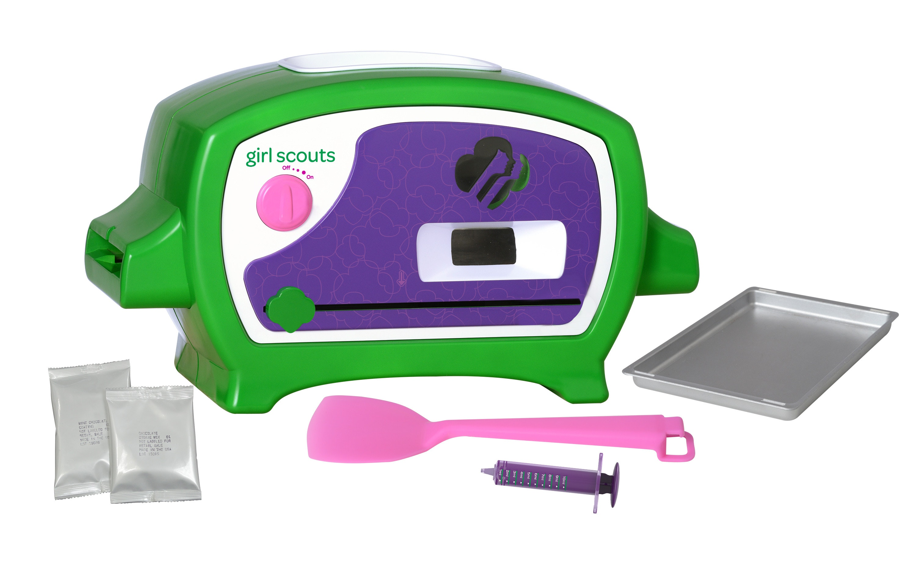 Girlscout cookieoven giveaway