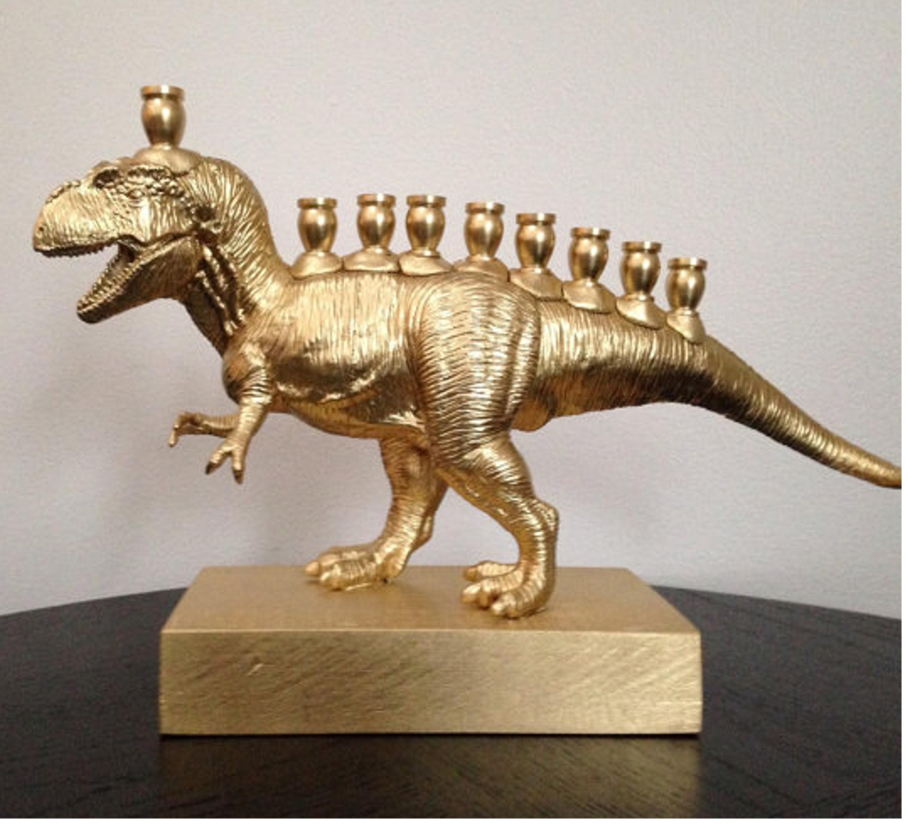 Menosaurus menorah decor giveaway