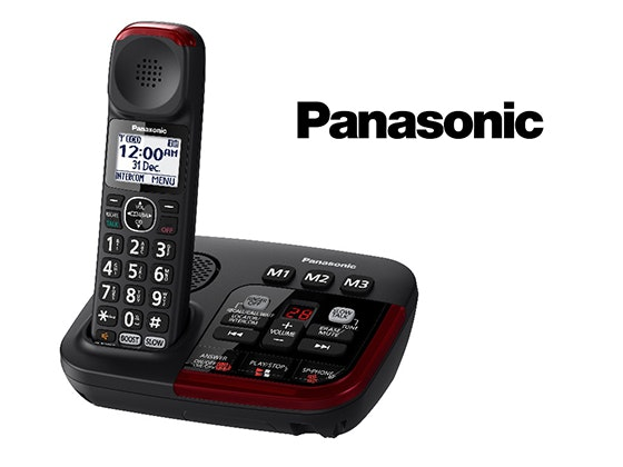 Panasonic KX-TGM420 Series Amplified Cordless System Phone sweepstakes