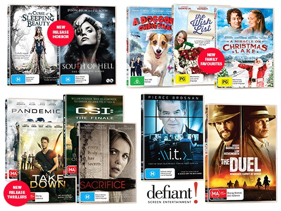 Defiant DVD Pack sweepstakes