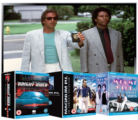 Miami vice knight ridger magnum dvd box set samsung tv