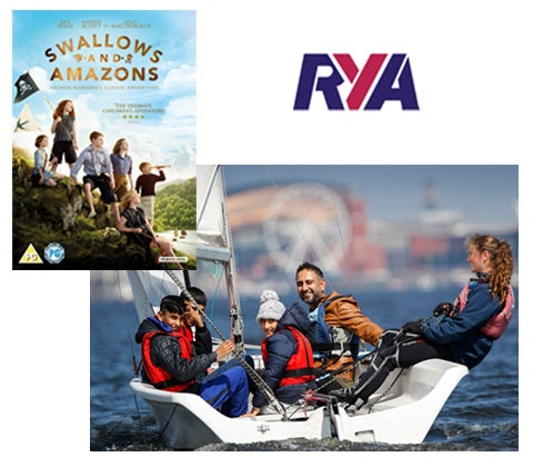 Rya sailing course swallows and amazons dvd competition