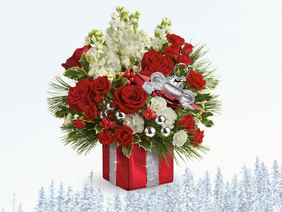 Teleflora holiday bouquet giveaway 1