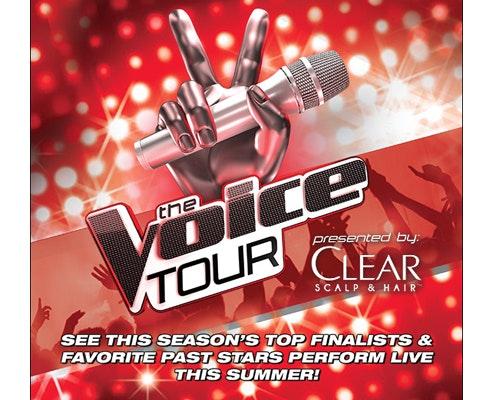 Voice tour giveaway