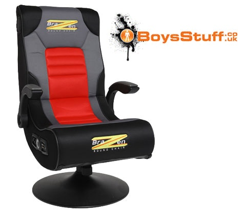 a BraZen Spirit 2.1 Bluetooth gaming chair sweepstakes