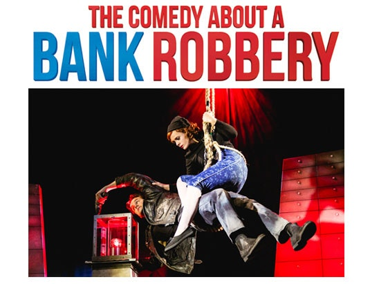 Comedy about a bamk robbery
