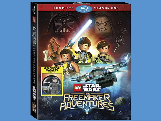 Starwars legofreemakers dvd giveaway