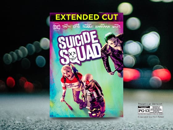 Suicide Squad plus HDTV and Blu-ray Player sweepstakes