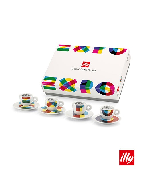 Illy collection officiel expo2015