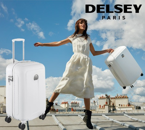 Delsey Helium Air 2 suitcase sweepstakes