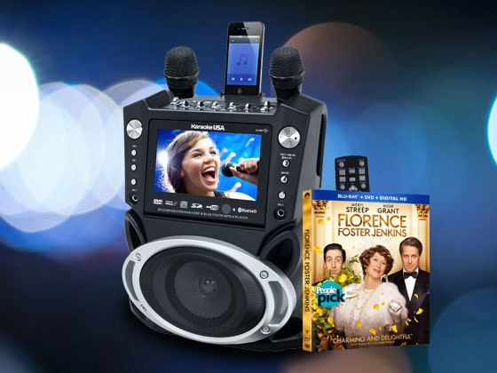 Florence foster jenkins karaoke giveaway