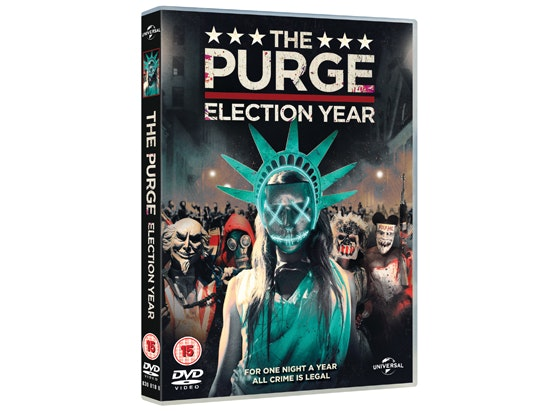 The Purge: Election Year on DVD and Lady Liberty Mask sweepstakes