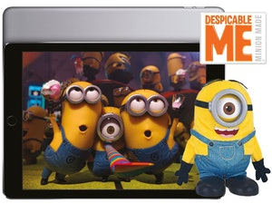 Apple ipad air 2 minion toys competition