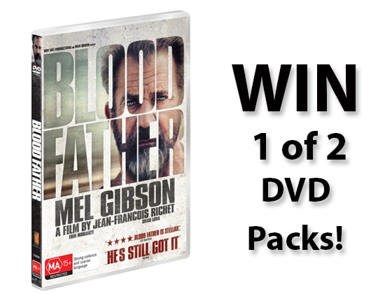 Blood Father DVD Pack sweepstakes