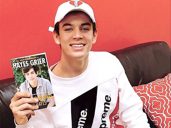J-14: Hayes Grier Book sweepstakes