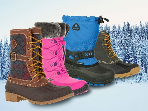 Kamik boots giveaway