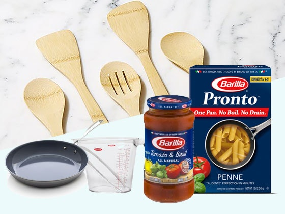 Barilla Year Supply of Pasta & Sauce & Cookware sweepstakes