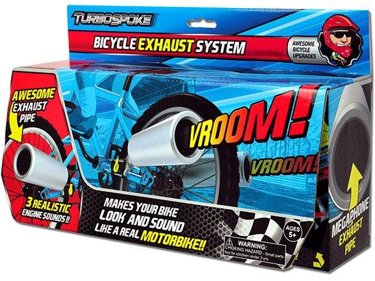 Turbospoke exhaust system box front
