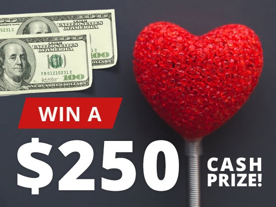 250cash giveaway february