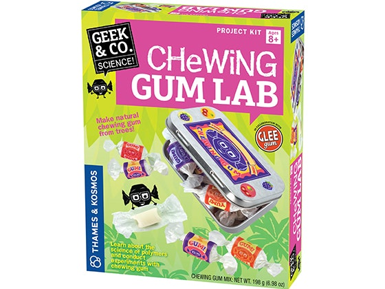Gw Bake It Up: Chewing Gum Lab kit sweepstakes