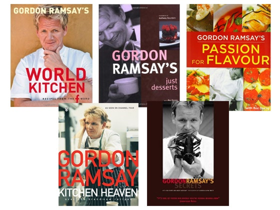 Gordon Ramsay Cookbook Pack sweepstakes