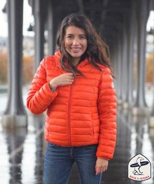 Doudoune orange backtoalaska