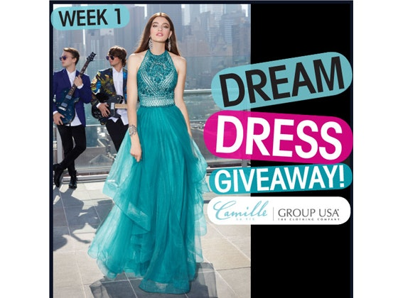 Promdress week1 giveaway