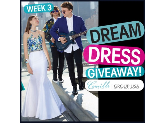 Promdress week3 giveaway