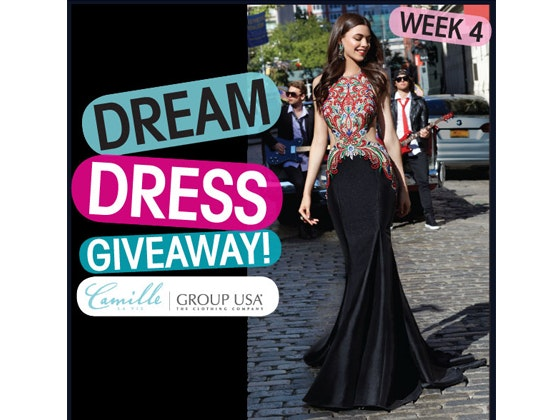 Camille La Vie Prom Dress #4 sweepstakes