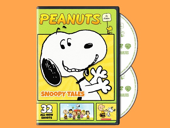 Peanuts by Schulz: Snoopy Tales on DVD sweepstakes