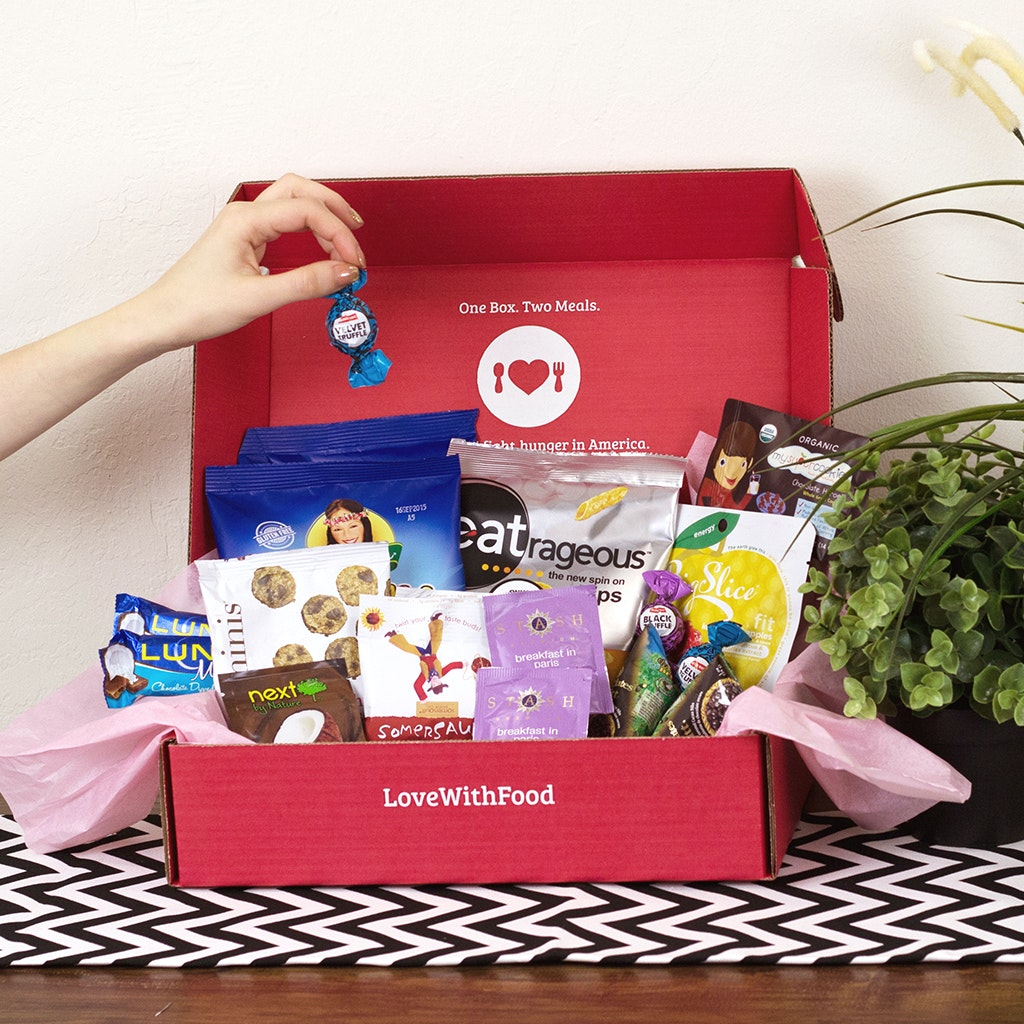 3 Month Love with Food Subscription sweepstakes