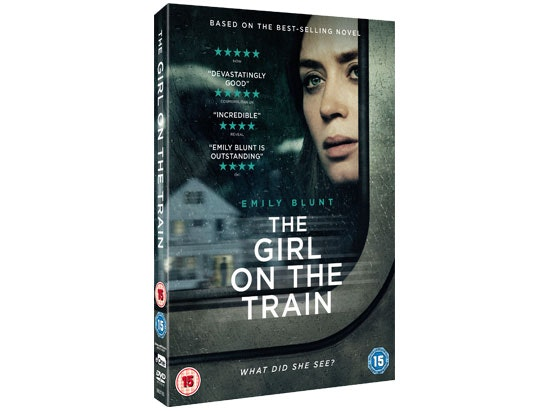 The Girl on The Train sweepstakes