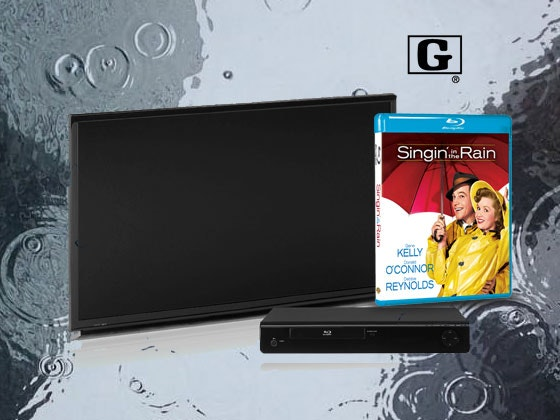 HDTV & Blu-ray Player with Singin' in the Rain on Blu-ray sweepstakes