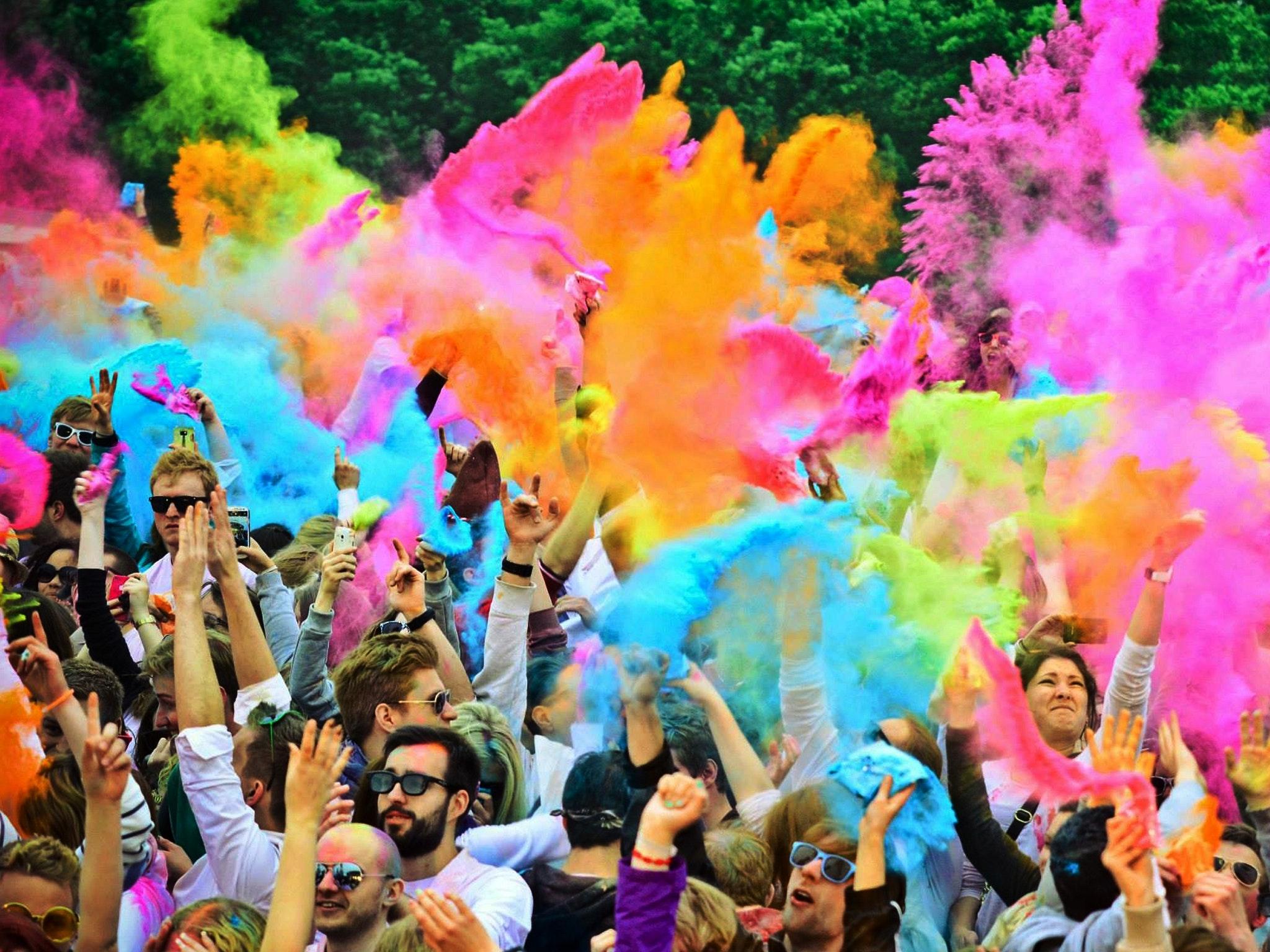 Holi one colour festival 2