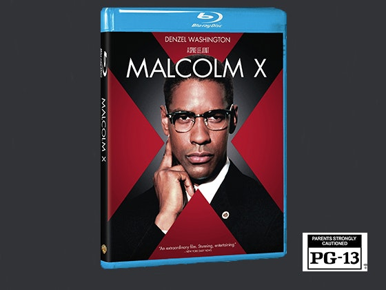 Malcolm X on Blu-ray™ sweepstakes
