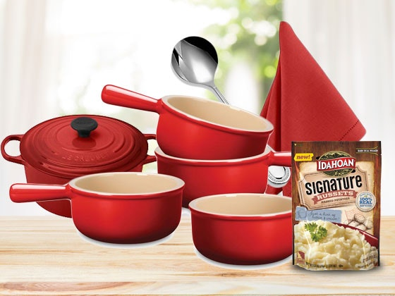 Le Creuset Cookware Set sweepstakes
