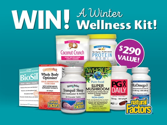 Winter Wellness Kit from Natural Factors sweepstakes