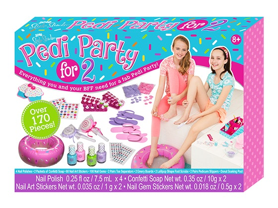 Girls World: Pedi Party for 2 Set sweepstakes