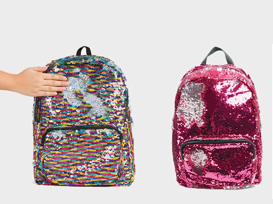 Girls World: Sequin Backpack sweepstakes