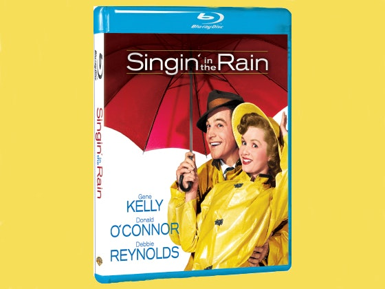 Singin' in the Rain on Blu-ray sweepstakes