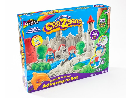 Cra-z-sand Mold and Play adventure Set sweepstakes