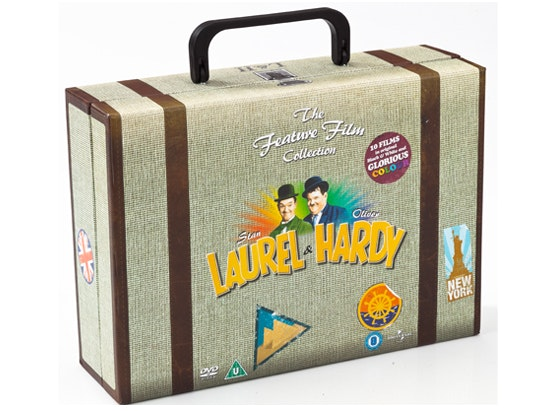 Laurel And Hardy Feature Film Collection  sweepstakes