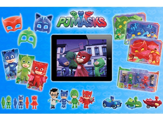 an Apple iPad Mini & PJ Masks toys & costumes sweepstakes