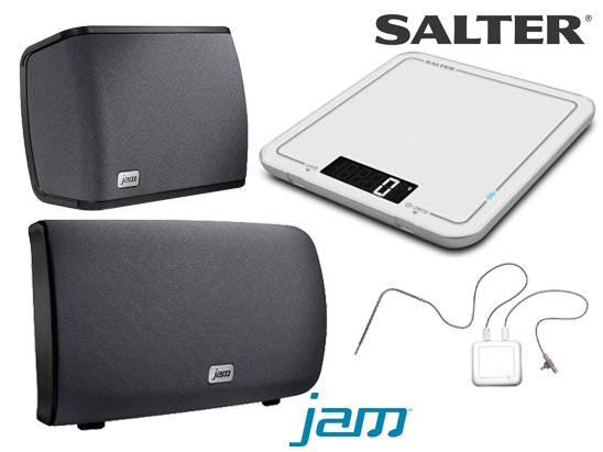 a Salter Cook set & JAM Wi-Fi speakers sweepstakes